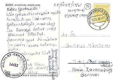 Briefmarken Universum Wissen Postalische Hinweisvermerke